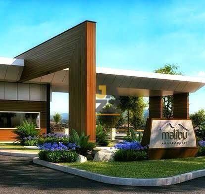 Imagem 1 de 12 de Terreno À Venda, 250 M² Por R$ 155.000,00 - Condomínio Malibu - Caçapava/sp - Te3542