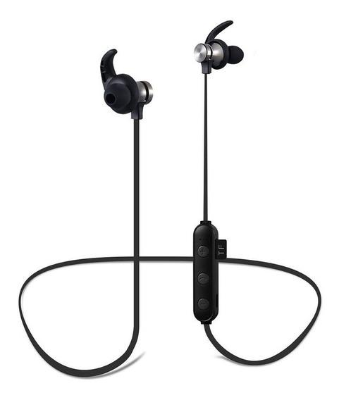 Fone De Ouvido Bluetooth Sport Sweatproof Cartão Sd Xt-22