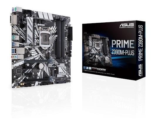 Placa-mãe Asus Intel Prime Z390m-plus 1151 Ddr4 - Hdmi - Dvi