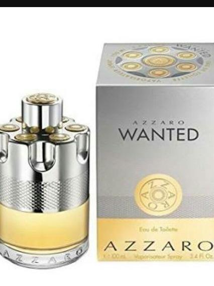 Perfume Azzaro Wanted Masc. 100ml