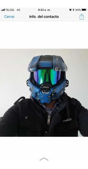 Casco Halo Azul