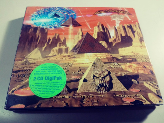 Gamma Ray - Blast From The Past - Cd Doble , Made In Germany
