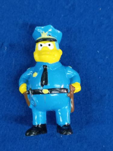Jefe Policia * Los Simpson * Coleccion Jack Grande *
