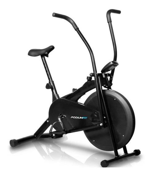 Bicicleta ergométrica airbike PodiumFit AB100