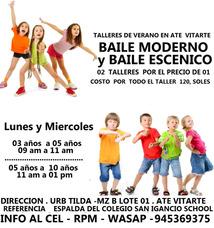 Talleres De Verano En Ate Vitarte 2018 .baby Kids Party