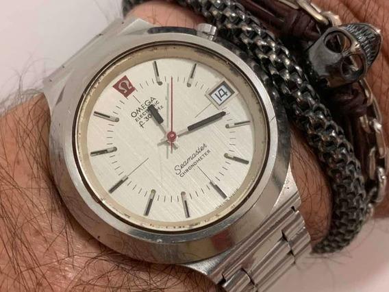 Ômega Seamaster F300hz Chronometer Eletrônico Swiss Made
