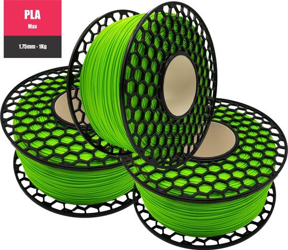 Filamento Pla Max 1kg-1,75mm National 3d ** Promoção**