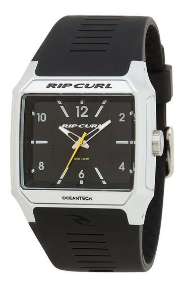 Relógio Rip Curl Rifles Analógico Silver Original + Nf