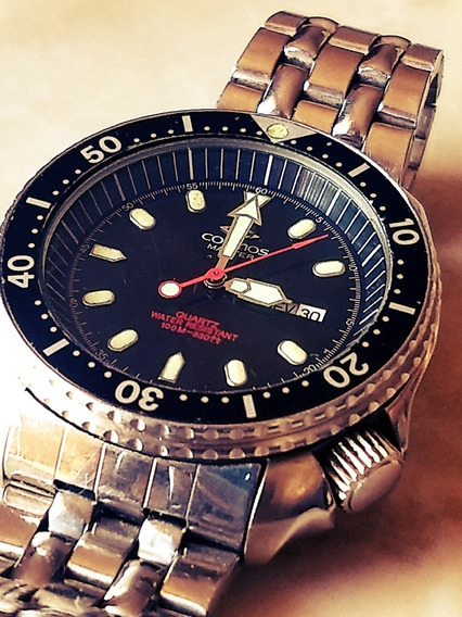 Cosmos Diver Aquamaster 330 Ft 100 M Raro = Aqualand Seiko