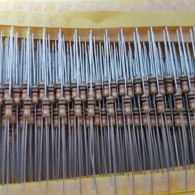 Lote 500 Resistor De Carbono 10k 1/4w 5%