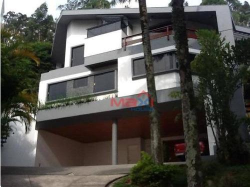 Casa À Venda No Tamboré 1 - Ca0118