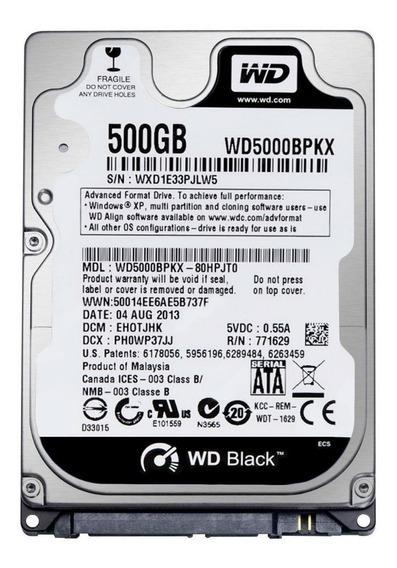 Disco Duro Interno Western Digital 500 Gb 2.5 7200 Rpm Nuev