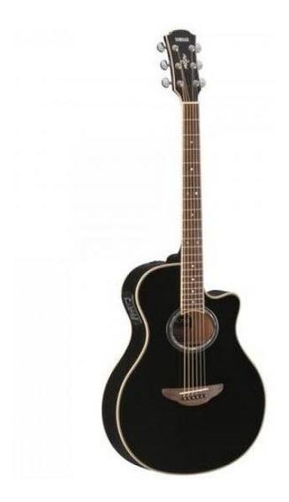 Violão Eletroacústico Aço Apx700 Preto Yamaha