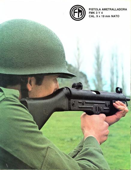Fabricaciones Militares - Catalogo - Fmk 3 Y 4 - Cal. 9 Nat