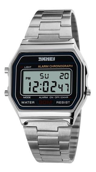 Relógio Feminino Masculino Unissex Retro Vintage Skmei 1123
