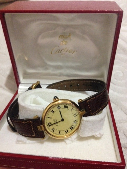 Reloj Cartier Vermeil Argent 925