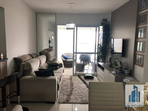 Apartamento Com 2 Dormitórios À Venda, 71 M² Por R$ 499.000 - Vila Augusta - Guarulhos/sp - Ap0094