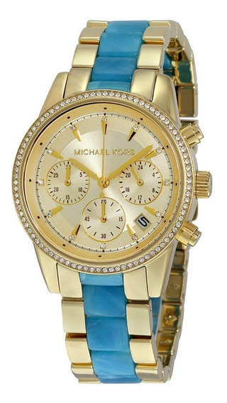 Relógio Feminino Michael Kors Mk6328/5dn - Dourado