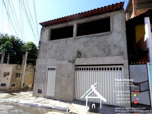 Imagem 1 de 30 de Casa Lauro De Freitas - Pafc69 - 69659884