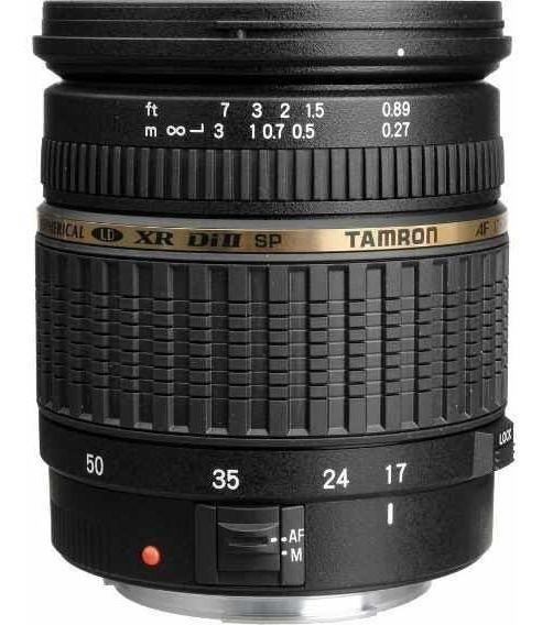 Lente Tamron 17 50mm F2.8 Mount Nikon