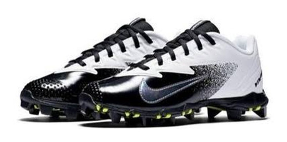 Spikes Beis Soft Nike Ultra Fly Blanco Inf Negro # 22.5 Mx