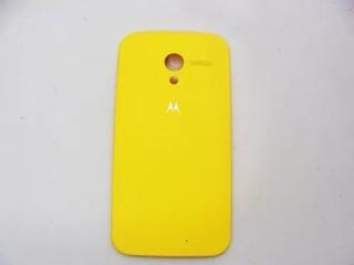 Tampa Traseira Celular Motorola Xt 1058 Amarela