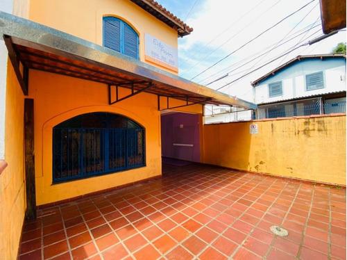 Casa Comercial Para Locação Em Embu Das Artes, Centro, 3 Dormitórios, 1 Suíte, 3 Banheiros, 3 Vagas - 591_2-1160946