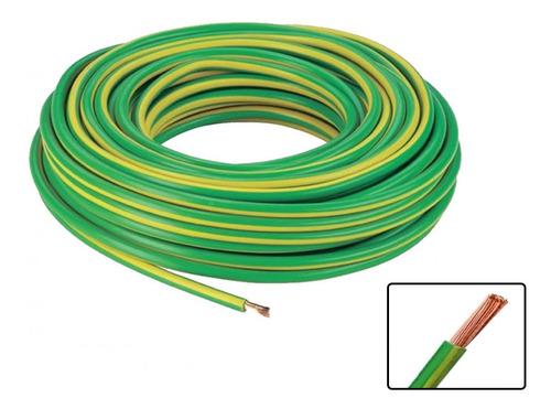 Imagen 1 de 7 de Cable Instalacion 1.00mm Verde Rolo 30mts