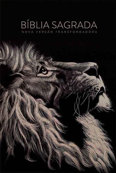 Bíblia Nvt Sankto Lion Head Letra Normal