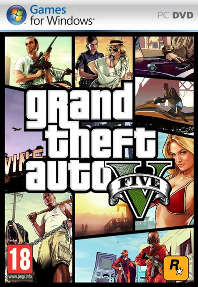 Grand Theft Auto V - Pc Mídia Digital + Jogo Grátis