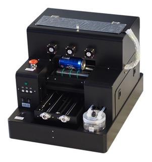 Impresora Uv Aut. Cama Plana A4 Fundas De Cel,botellas,piel,