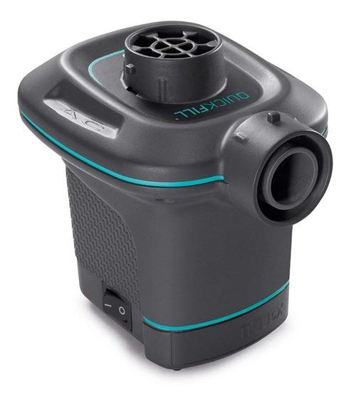 Bomba Electrica Para Inflar Colchones Quick-fill Intex 66639