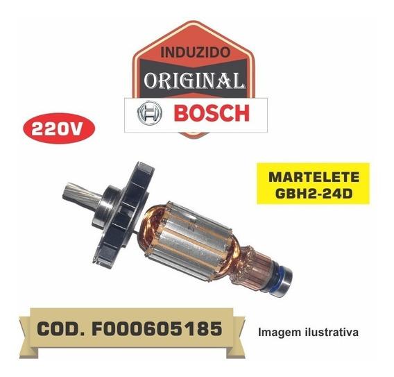 Induzido Original Bosch P/martelete Gbh2-24d 220v F000605184