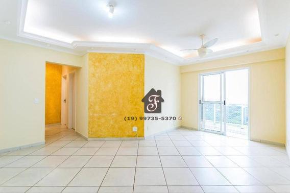 Apartamento Com 3 Dormitórios À Venda, 80 M² Por R$ 483.000,00 - Mansões Santo Antônio - Campinas/sp - Ap1574