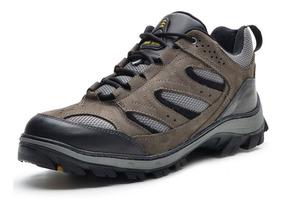 Tênis Trilha Bota Atron Shoes Adventure Caminhada Couro