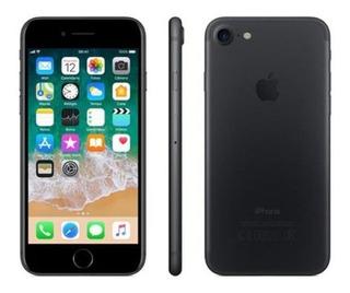 iPhone 7 Preto Matte Com Tela De 4,7, 4g, 32 Gb E Câmera De