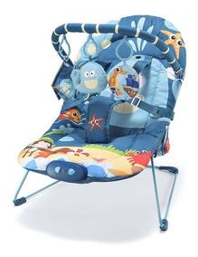 Cadeira Bebê Descanso Musical Baleia 0-15kg Multikids