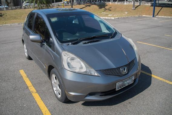 Honda New Fit 2009 Ar Condicionado Único Dono Banco De Couro