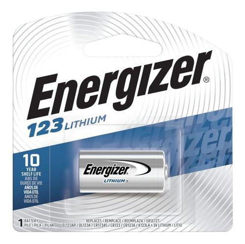 Cr123a 123a Cr123 Batería Lithium Energizer Cr17345 3v 123