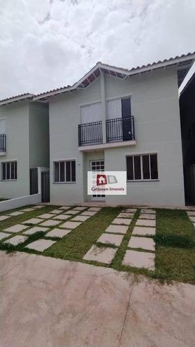 Casa Com 4 Dormitórios À Venda, 142 M² Por R$ 650.000,00 - Nativo Clube - Cotia/sp - Ca0141