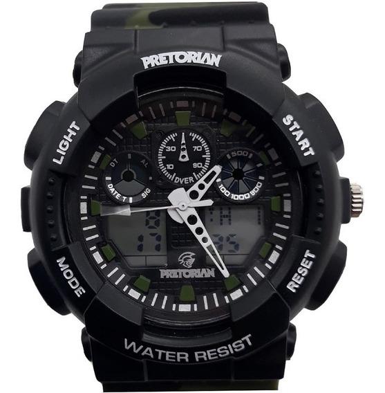 Relógio Pretorian Masculino Wprt-02-2, C/ Garantia E Nf