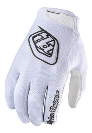 Guantes Motocross Troy Lee Air Blanco 6 Cuotas Sin Interes