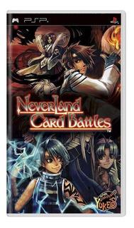 Neverland Card Battles Psp Mídia Física Pronta Entrega