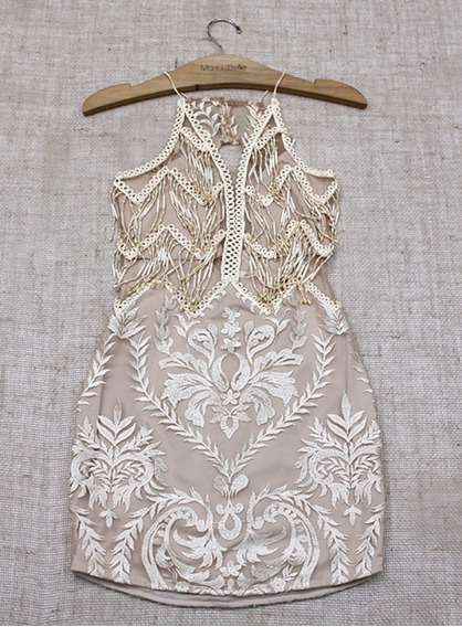 Vestido Bordado Original Mondabelle