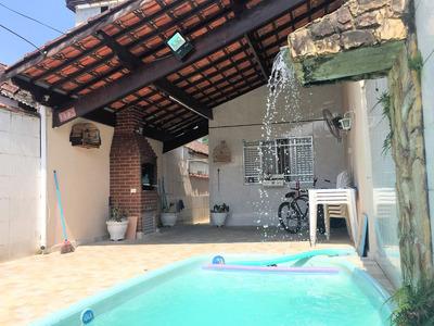 Casa Geminada, 03 Dormitórios Sendo 02 Suítes, 02 Vagas, Piscina E Churrasqueira - Canto Do Forte - Praia Grande Ir3f02c - Ir3f02c - 33331339