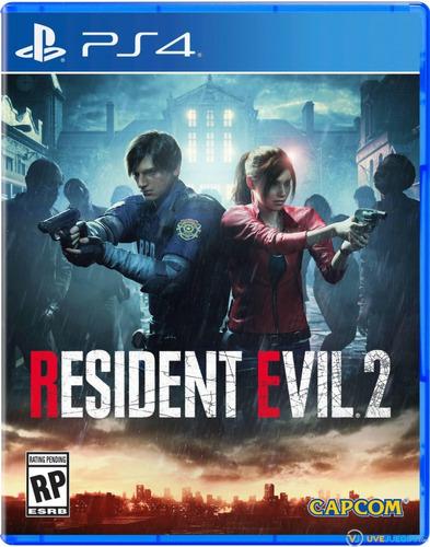 Resident Evil 2 Ps4 Fisico!!! Nuevo!!!