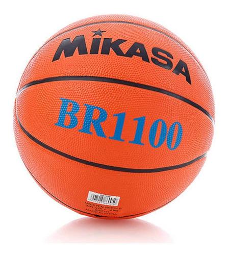 Imagem 1 de 4 de Bola Basquete Mikasa Br1100 Com Frete