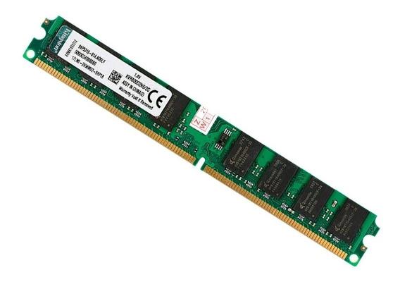 Memoria Kingston Ddr2 2gb 800mhz Pc Desktop Barato