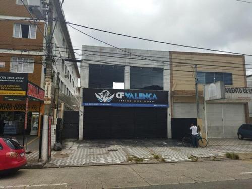 Galpão Em Vila São Jorge, São Vicente/sp De 280m² Para Locação R$ 5.400,00/mes - Ga961704