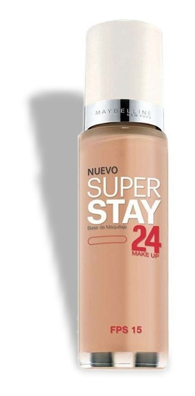 Base Maquillaje Maybelline Superstay 24hs Fps15 Resistente